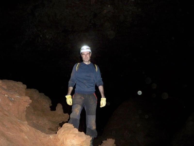 Espeleología: sábado 6 de junio 2015 - Cueva de las Majadillas (Guadalajara) 101_0024