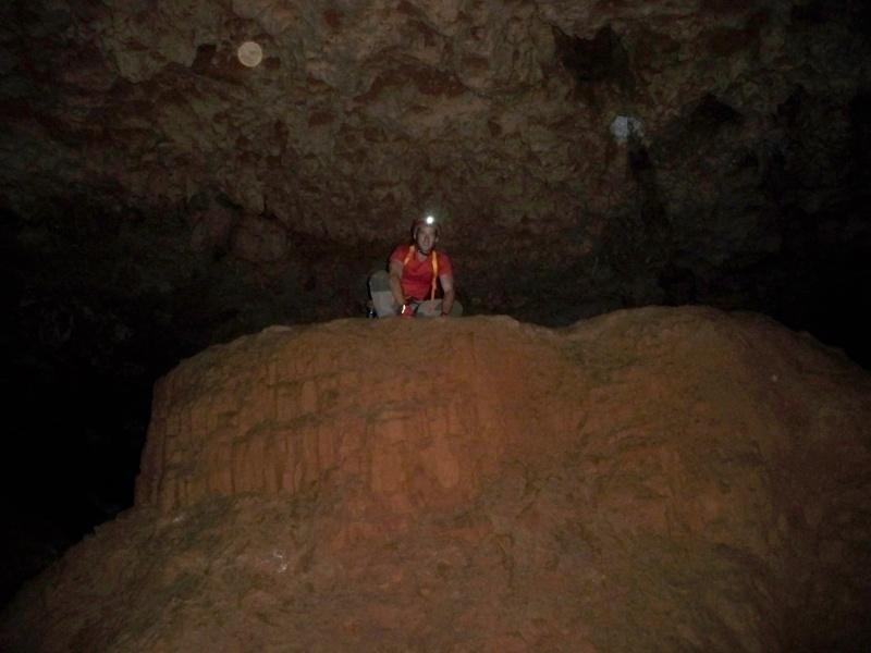 Espeleología: sábado 6 de junio 2015 - Cueva de las Majadillas (Guadalajara) 101_0025