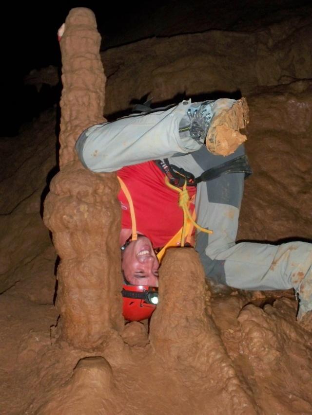 Espeleología: sábado 6 de junio 2015 - Cueva de las Majadillas (Guadalajara) 101_0027