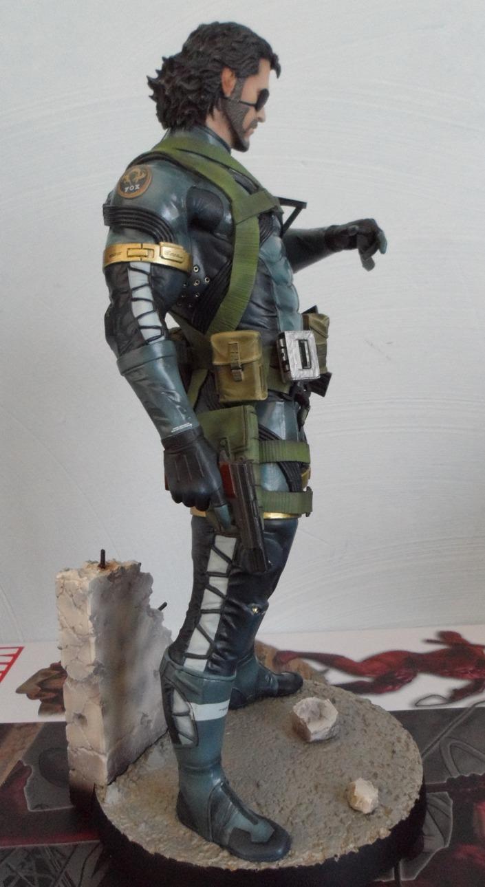 GECCO : METAL GEAR SOLID V : SNAKE 1/6 PVC statue Snake_15