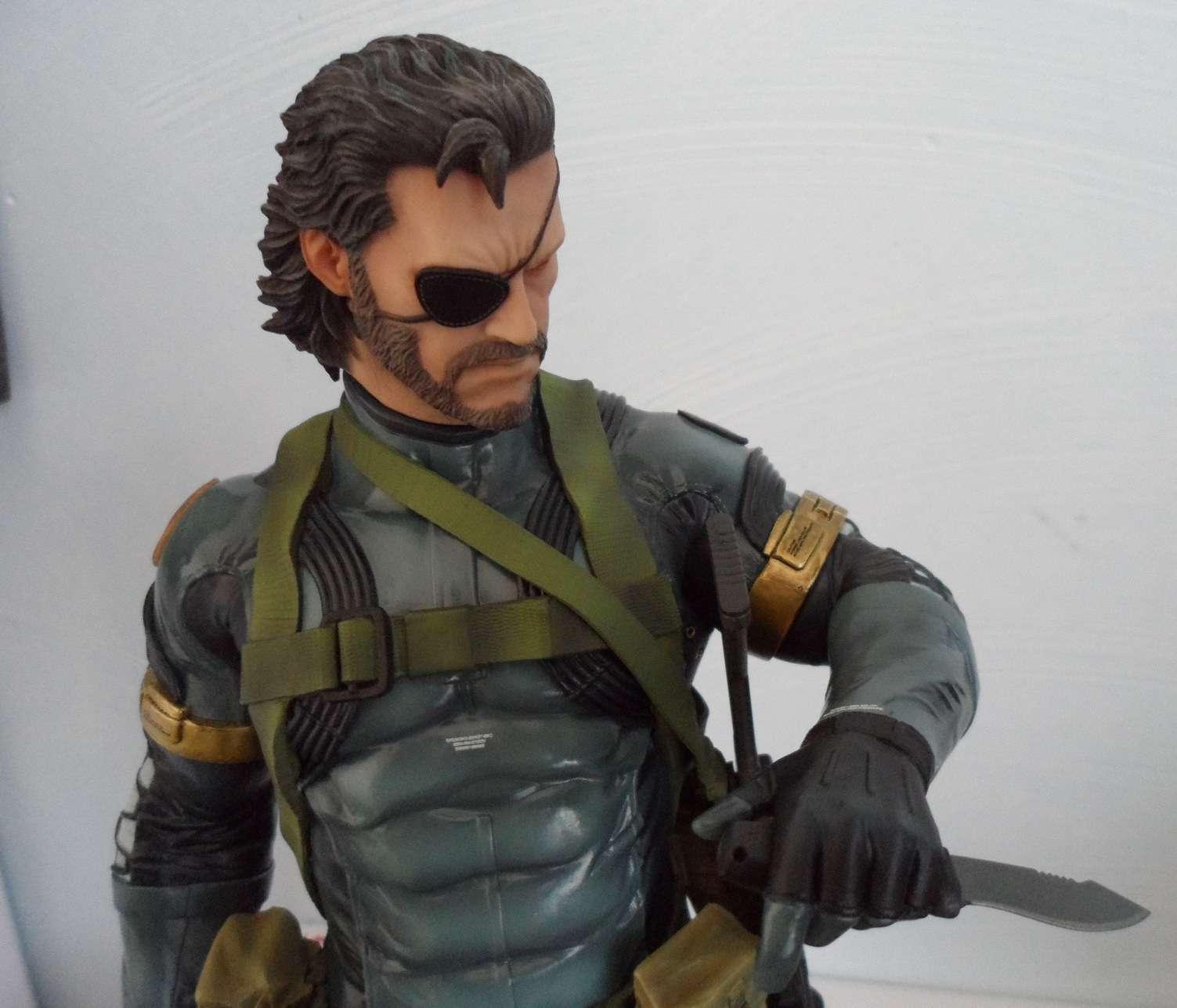 GECCO : METAL GEAR SOLID V : SNAKE 1/6 PVC statue Snake_17