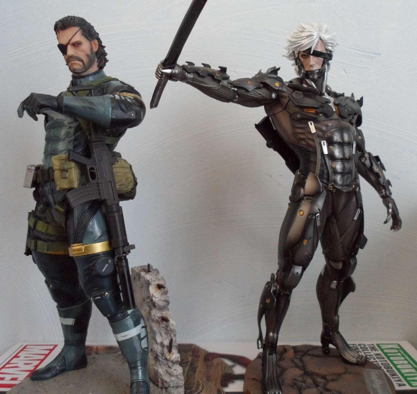GECCO : METAL GEAR SOLID V : SNAKE 1/6 PVC statue Snake_24