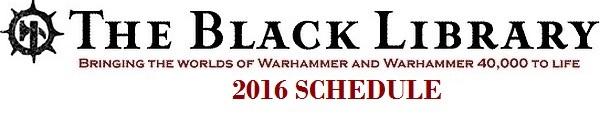 Programme des publications The Black Library 2016 - UK 1222210
