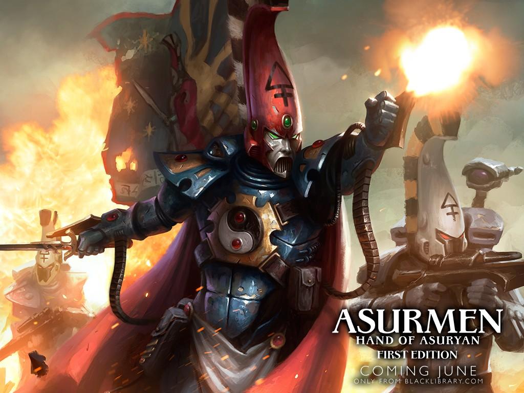 [Phoenix Lords] Asurmen: Hand of Asuryan de Gav Thorpe Asurme10