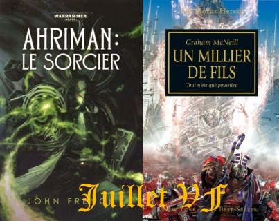 Sorties Black Library France Juillet 2015 Juille10