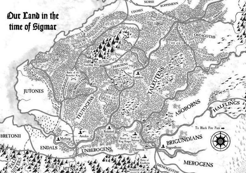 Comtés, tribus fondatrices et tant de choses sur l'Empire des Hommes. Sigmar10