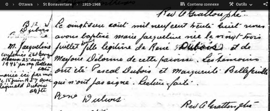 Dubois & Delorme Baptym10