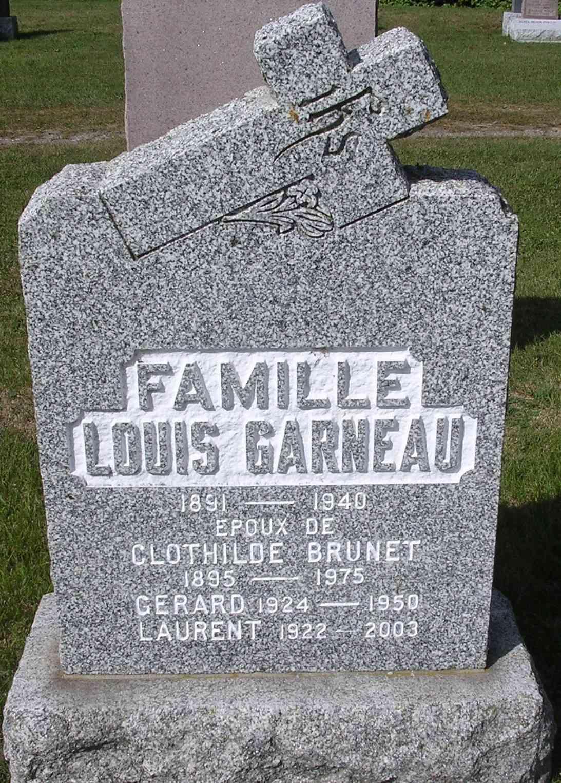 Roland Ouellet et Rose-Aimée GarneauGarneau Famill10