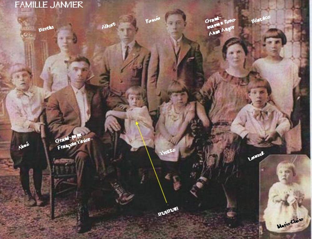 Louis Janvier et Célina Guay Famill11
