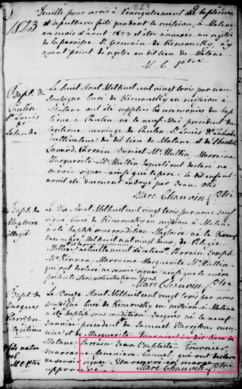Samuel Harrisson et Marguerite Fournier 2 lignes de pensées qui dit VRAI - PAR DENISE PELLETIER MICHAUD Jacque10