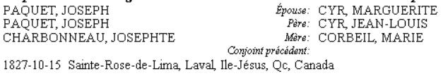 Pierre PAQUET et Angelique Gravel Joseph10
