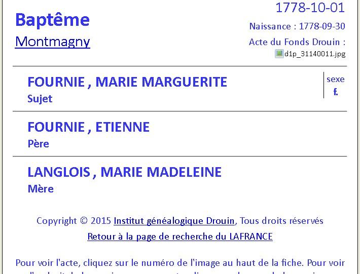 Samuel Harrisson et Marguerite Fournier 2 lignes de pensées qui dit VRAI - PAR DENISE PELLETIER MICHAUD Marie_10