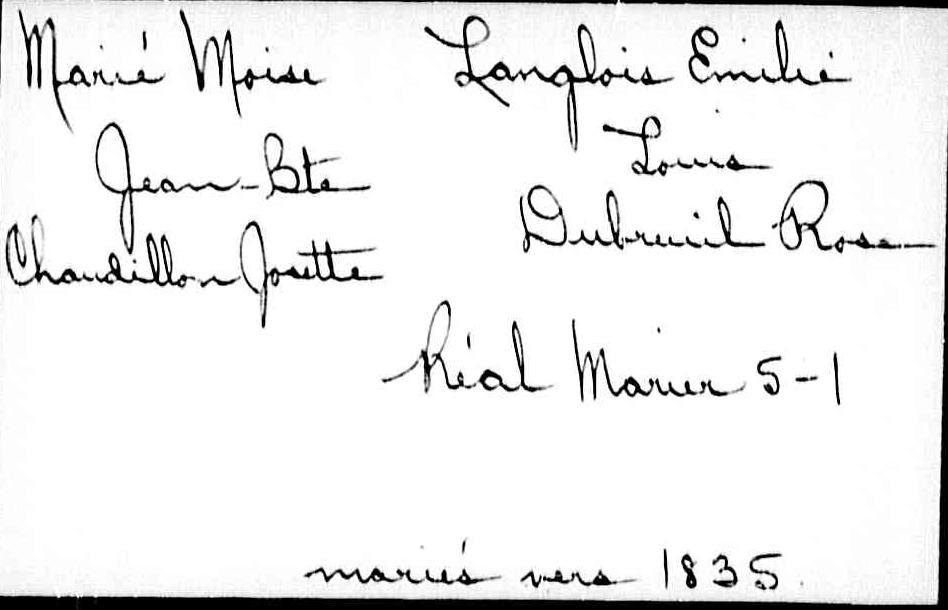 Énigme Moïse  Marier et Émilie Langlois  Moise_10