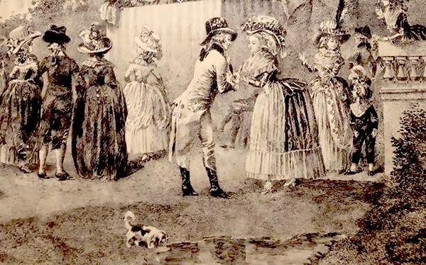 Fête champêtre au Petit-Trianon le 27 juin 1785 11425510