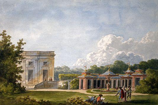 Fête champêtre au Petit-Trianon le 27 juin 1785 44288910