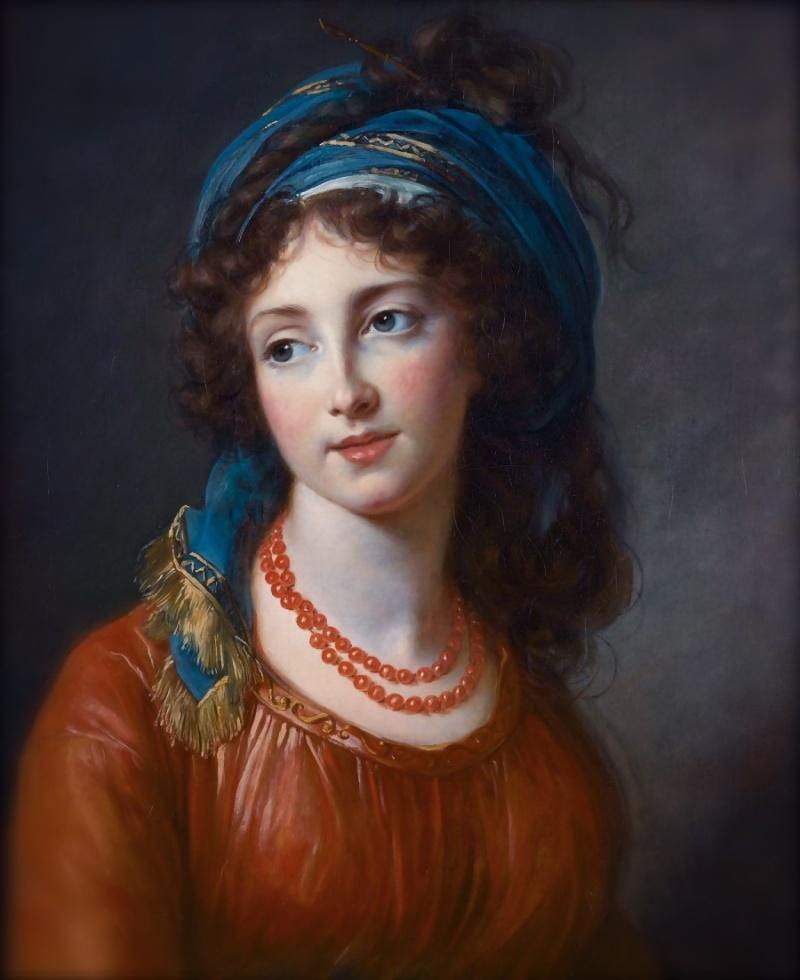 Fête champêtre au Petit-Trianon le 27 juin 1785 Il7te610