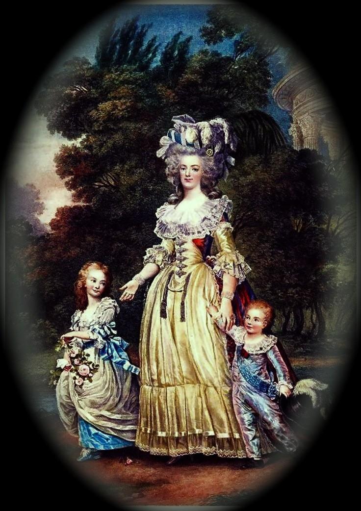 Fête champêtre au Petit-Trianon le 27 juin 1785 Reine_10