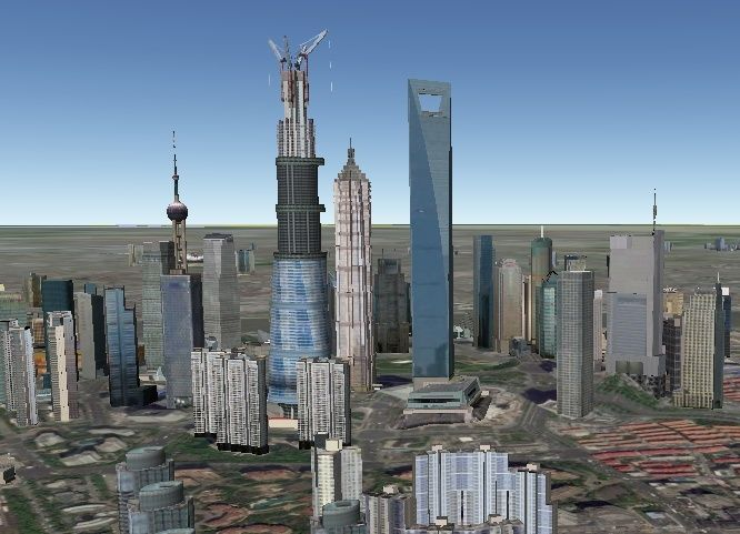 Shanghai Tower - Chine Sangha10