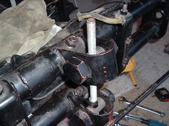 Amélioration suspension avant Select10