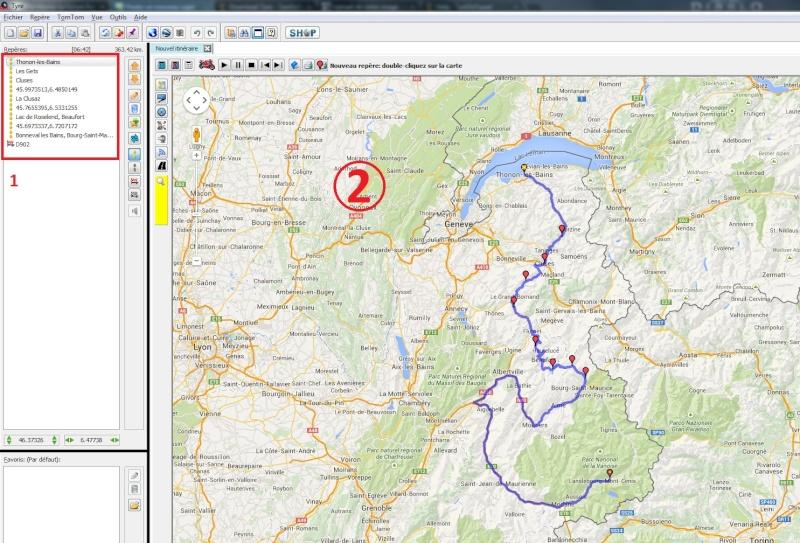 Avez vous des logiciels pour créer des road trip???? Gps810