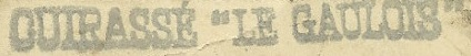 * GAULOIS (1899/1916) * 051210