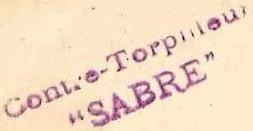 * SABRE (1904/1921) * 150810
