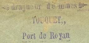 * TOUQUET (1914/119 et 1939/1940) * 170210