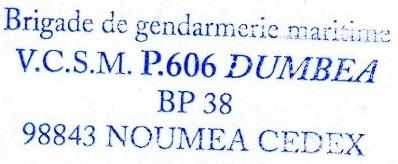 * NOUMEA * 208-0312