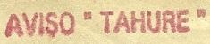 * TAHURE (1920/1944) * 3403_c11