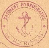 * INGÉNIEUR HYDROGRAPHE NICOLAS (1949/1960) * 510110