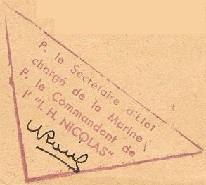 * INGÉNIEUR HYDROGRAPHE NICOLAS (1949/1960) * 5101_c10