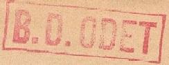* ODET (1949/1969) * 581110