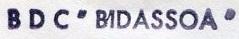 * BIDASSOA (1961/1986) * 700_0011