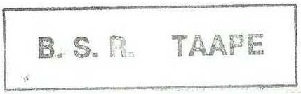 * TAAPE (1983/....) * 83-1210