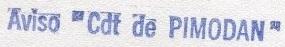 * COMMANDANT DE PIMODAN (1978/2000) * 85-0210