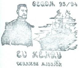 * ENSEIGNE DE VAISSEAU HENRY (1965/1994) * 940110