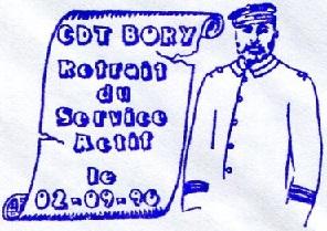 * COMMANDANT BORY (1964/1996) * 960910