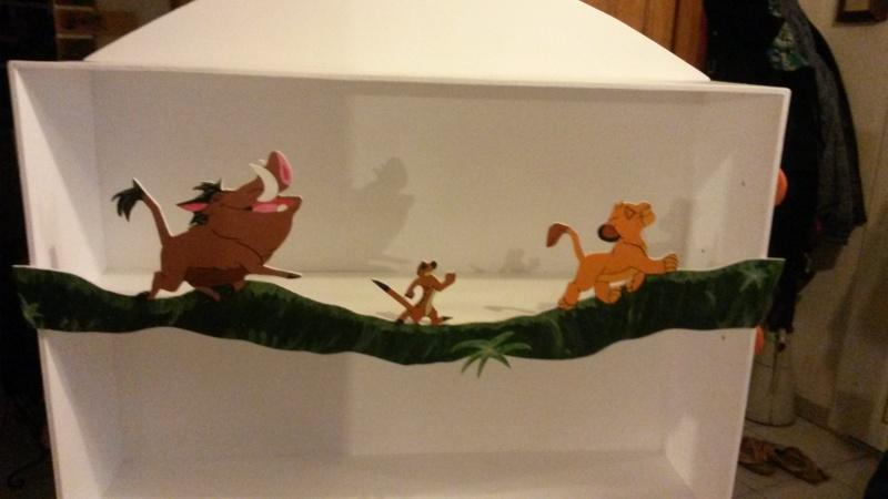 Arrivée de bébé dans le monde de Disney (déco chambre, faire part, idées baptême, vêtements ...) 20150412