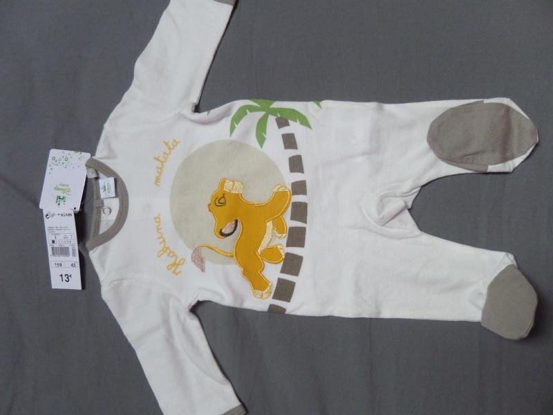 Arrivée de bébé dans le monde de Disney (déco chambre, faire part, idées baptême, vêtements ...) Sam_0625