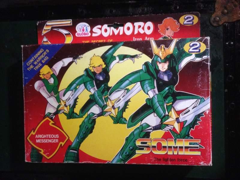 Somoro Bootlegs Cinque Samurai edizione Globo B5b89410