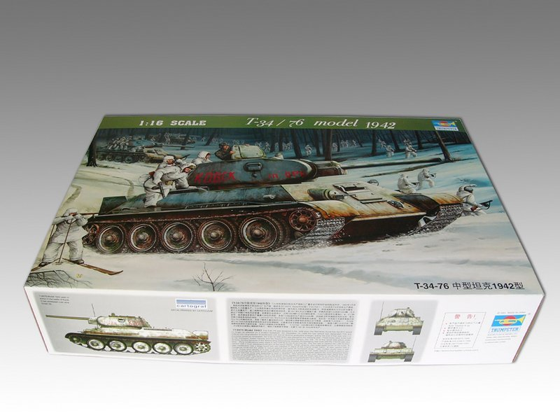 Trumpeter T34/76 1942 For Sale Trumpe10