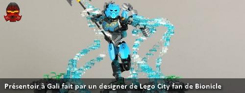 [MOC] Présentoir à Gali fait par un designer de Lego City fan de Bionicle Banniy19