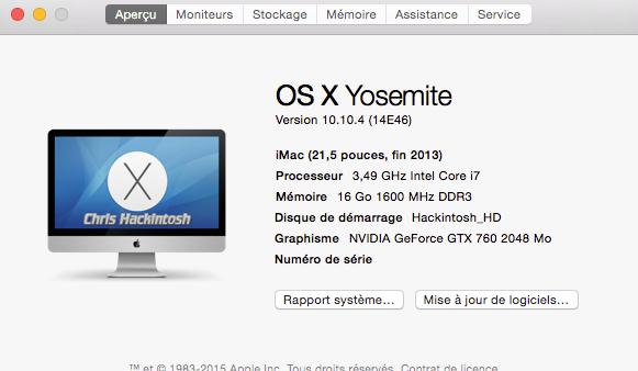 OS X 10.10.4 est sortie 11