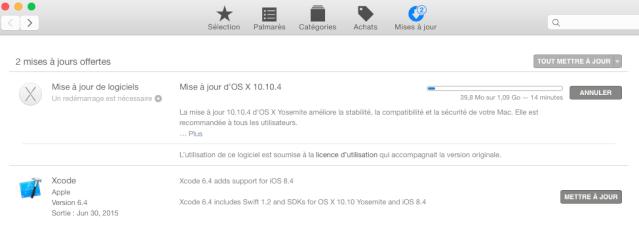 OS X 10.10.4 est sortie 139