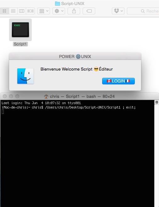 UNIX Script Éditeur.app 610