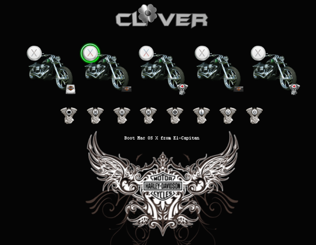 theme Clover Harley Screen13