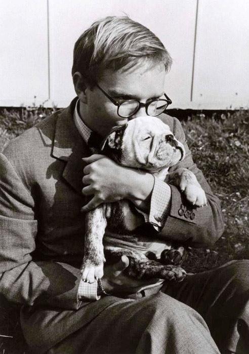 Les auteurs et leurs canins. - Page 4 Truman10