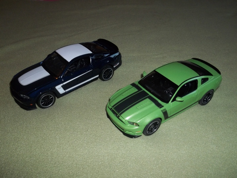 2012 Mustang Boss 302 (conversion) de Revell 01113