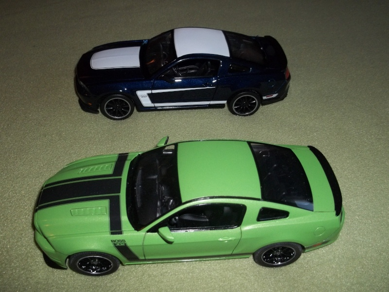 2012 Mustang Boss 302 (conversion) de Revell 01614