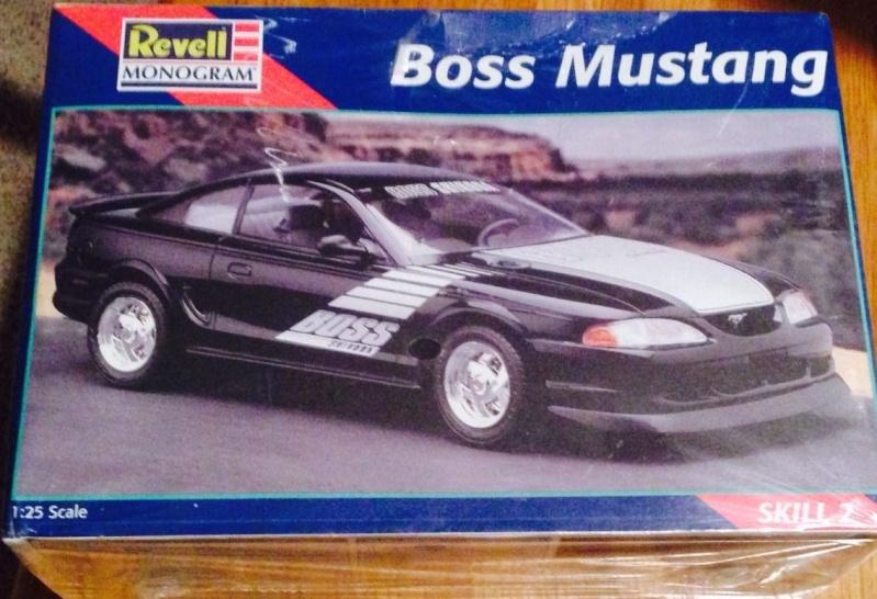 Restoration Mustang Boss. _3710